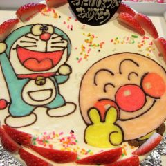 イラストケーキ